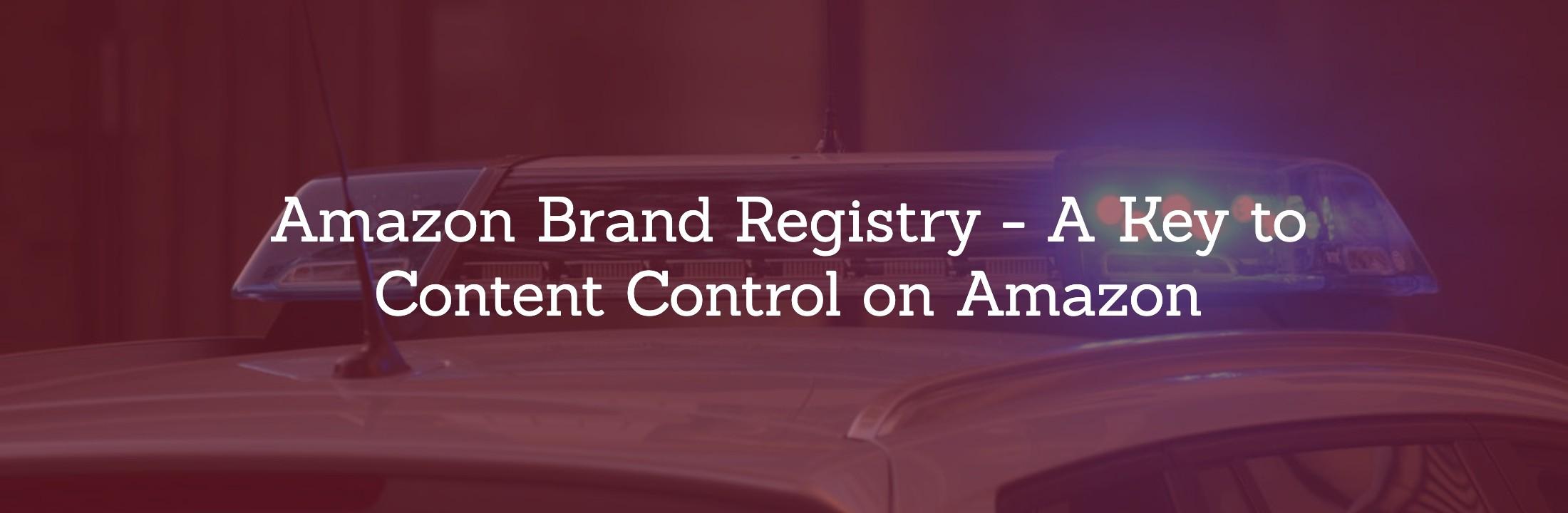 brand registry amazon login